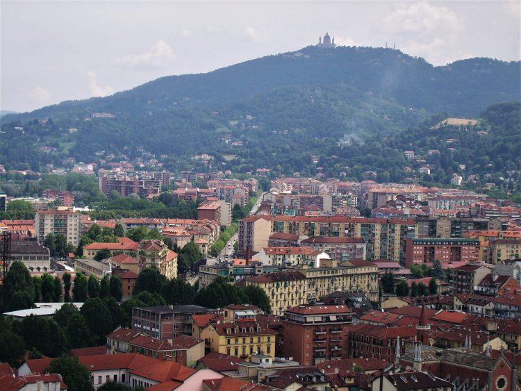Panorama dalla Mole Antonelliana, Torino
