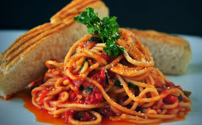 spaghetti all'amatriciana-roma