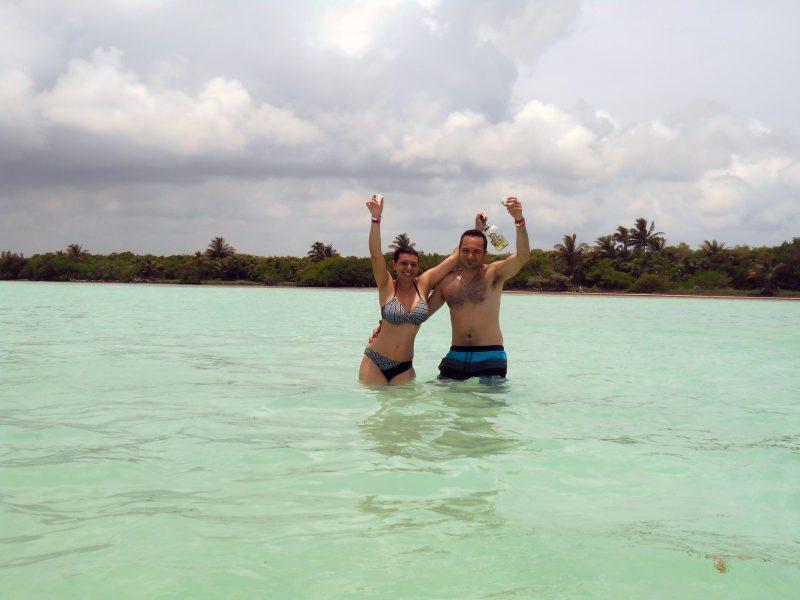 Mare caraibico a Sian Ka'an