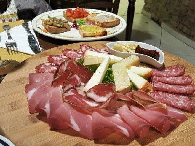antipasto fiorentino- cucina toscana