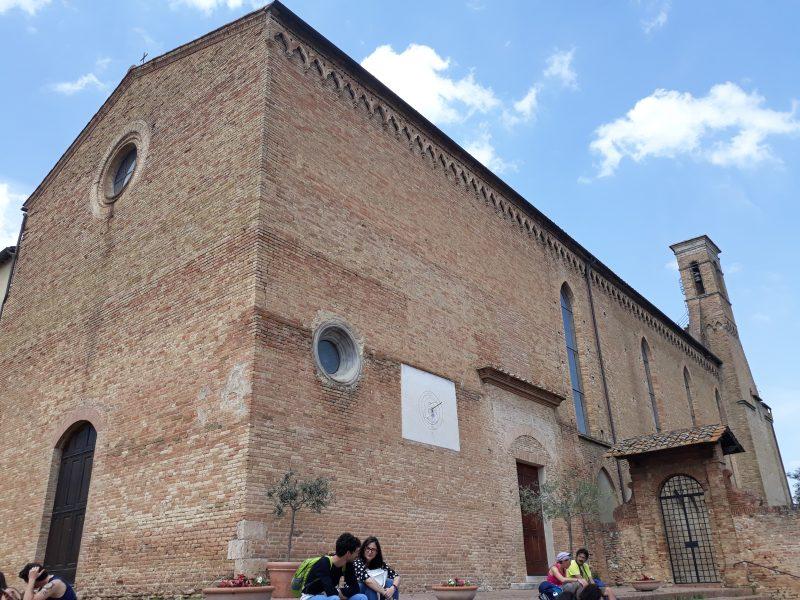 chiesa di sant'agostino-san gimignano