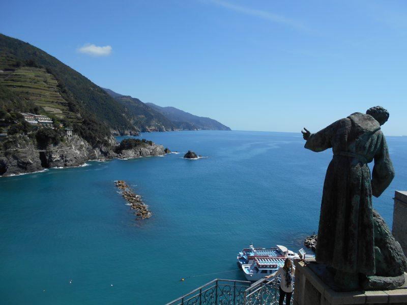 statua san francesco - monterosso