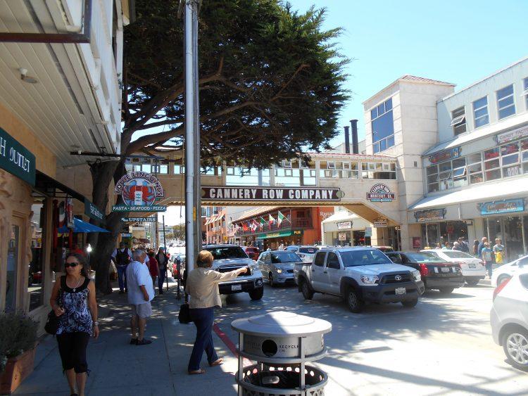 monterey cannery row-souvenirdiviaggio