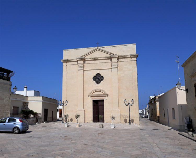 chiesa di santa maria della neve-acaya
