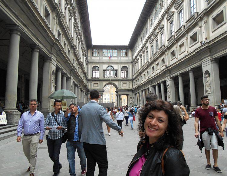 uffizi di Firenze-souvenirdiviaggio