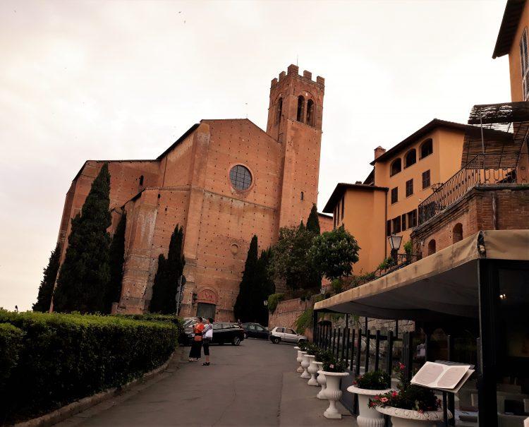 basilica di san domenico, siena. souvenirdiviaggio