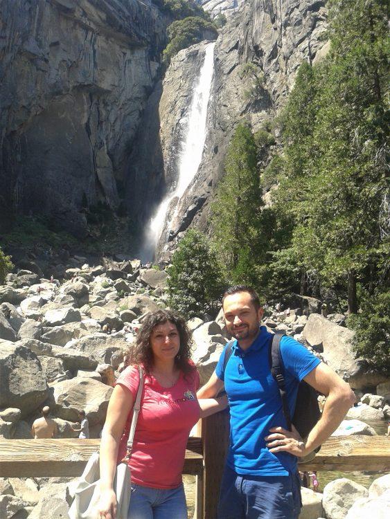 cascate basse yosemite-souvenirdiviaggio