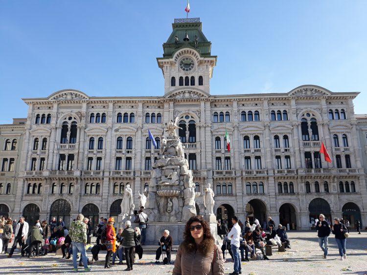 palazzo del municipio-trieste