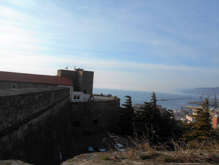 panorama da castello san giusto-trieste