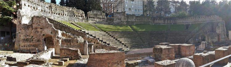 panoramica teatro romano trieste