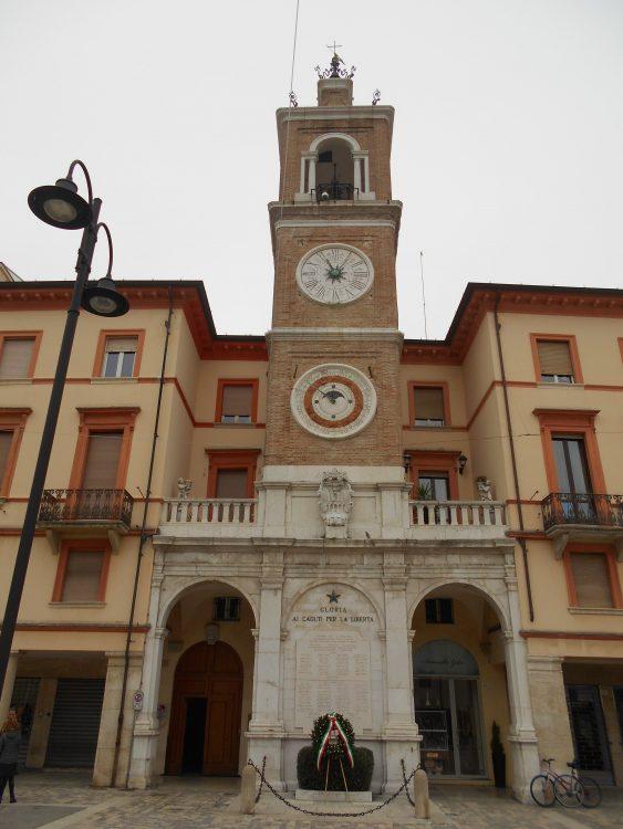 torre dell'orologio rimini