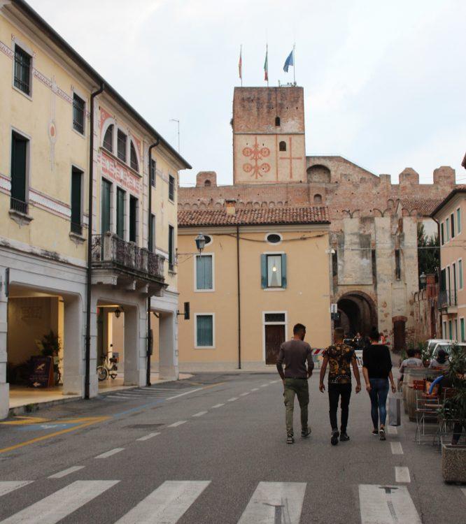centro storico porta bassano cittadella