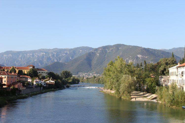 panorama ponte degli alpini bassano