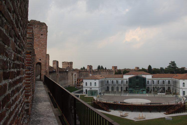 vista comune dalle mura cittadella