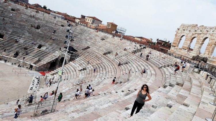 Interno Arena di Verona-Verona