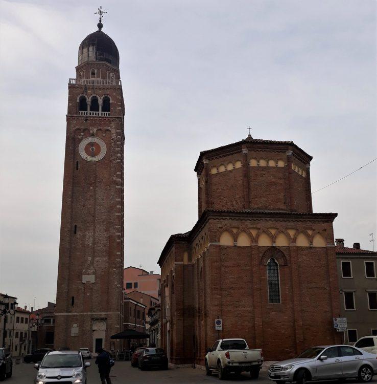 campanile e tempio di San Martino, Chioggia