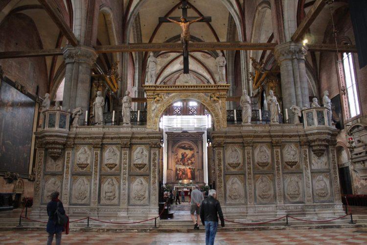 l'assunta del tiziano-basilica dei frari