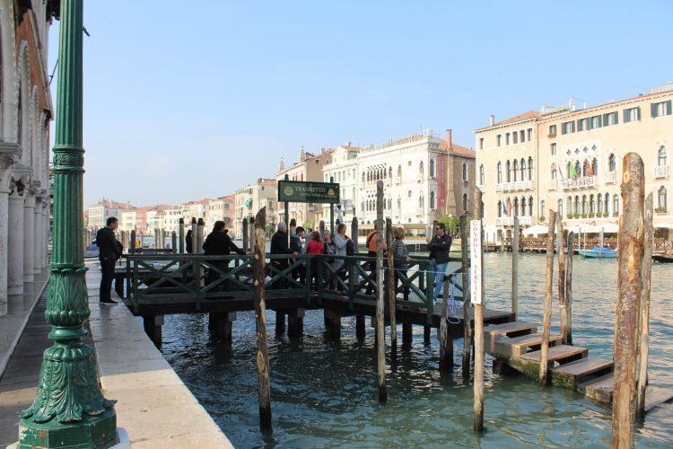 molo venezia-canal grande