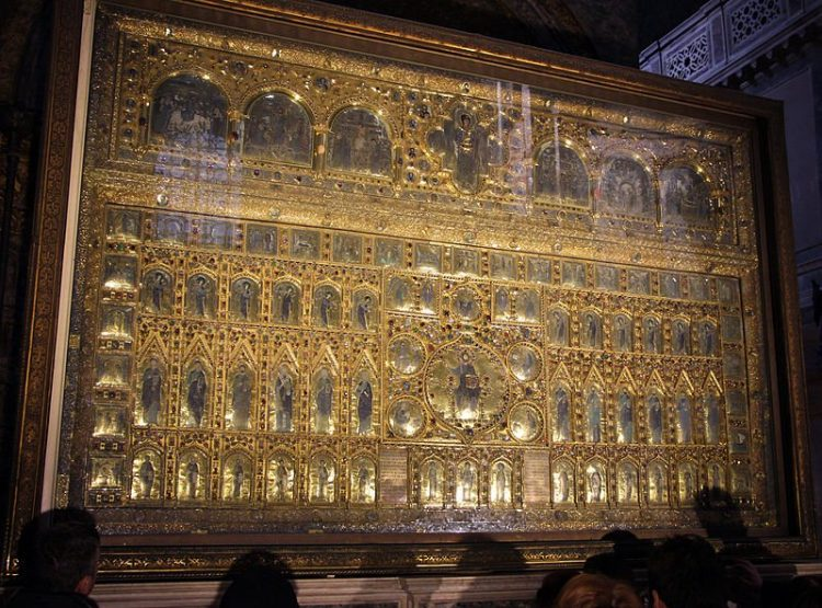 pala d'oro, basilica san marco-venezia