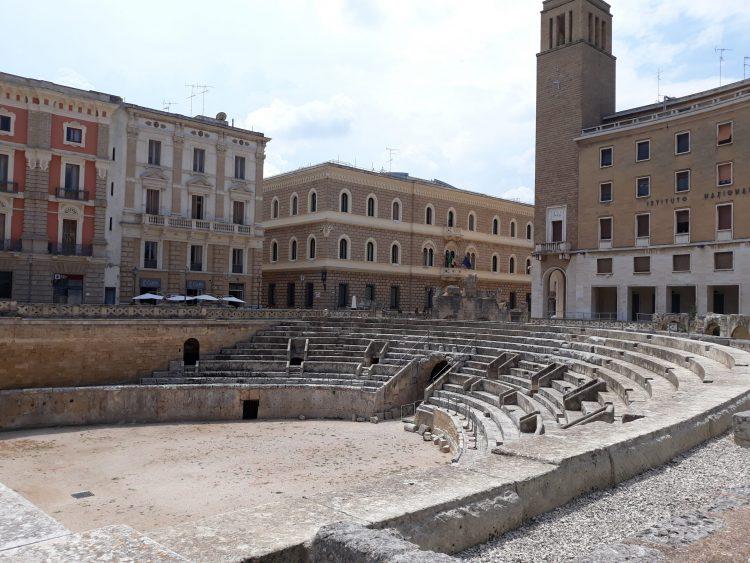 anfiteatro romano. lecce