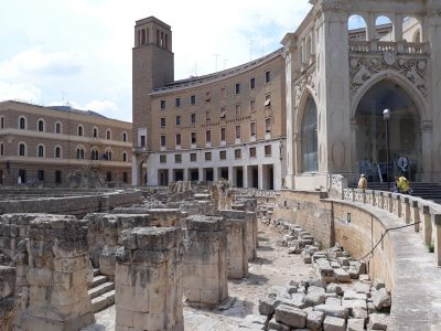dettaglio anfiteatro-piazza sant'oronzo
