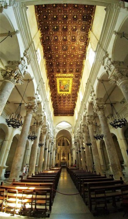basilica santa croce-lecce-interno