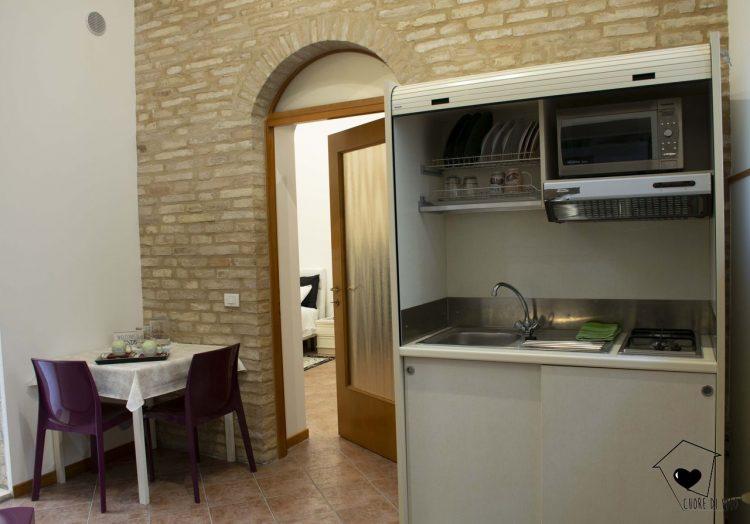 Cucina-appartamento later-cuore di filo