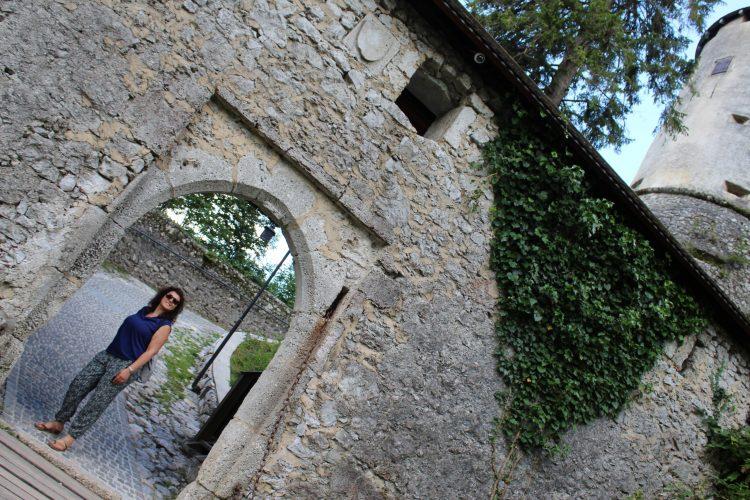 ingresso al castello di bled