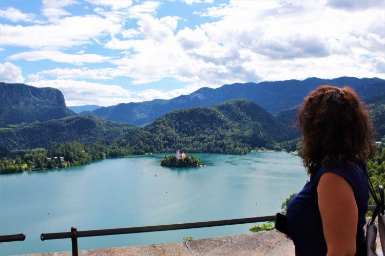 vista lago-castello di bled