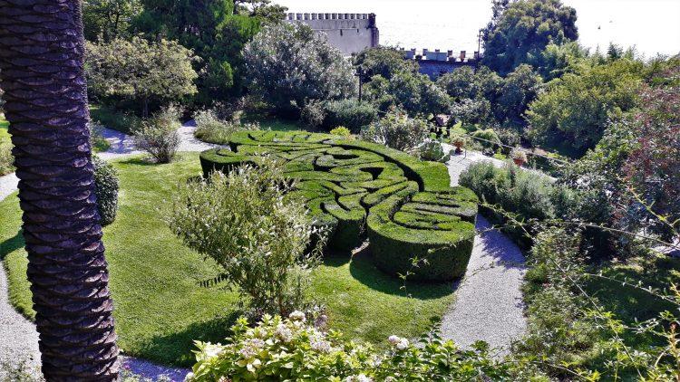 giardino all'italiana-isola del garda