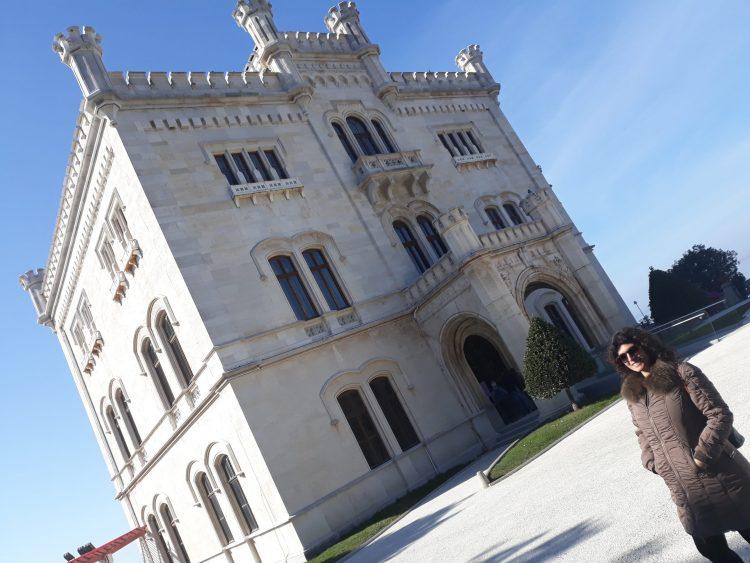 Castello di Miramare, Tieste-Friuli