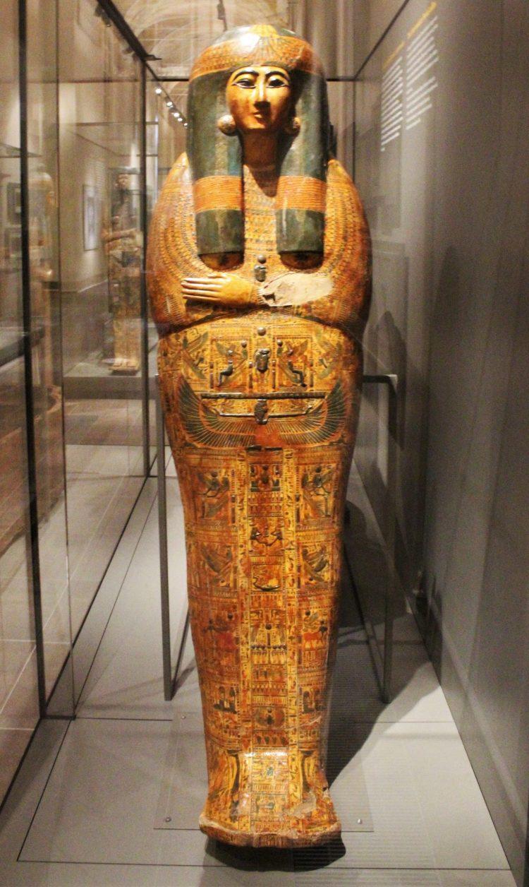 Sarcofago Di Taba Kenkhonsu-museo egizio di torino
