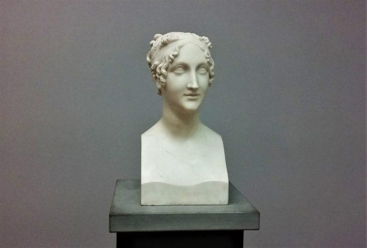 """""""Saffo (Erma di Saffo)"""", Antonio Canova, GAM (Galleria d'Arte Moderna) - Torino"""