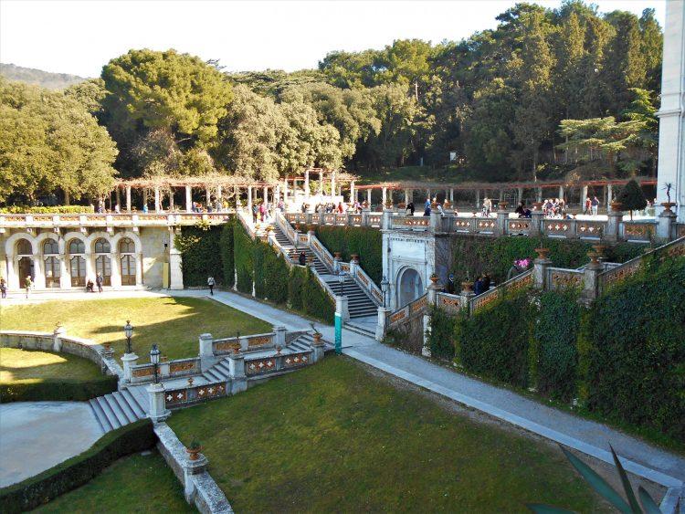 giardini castello miramare