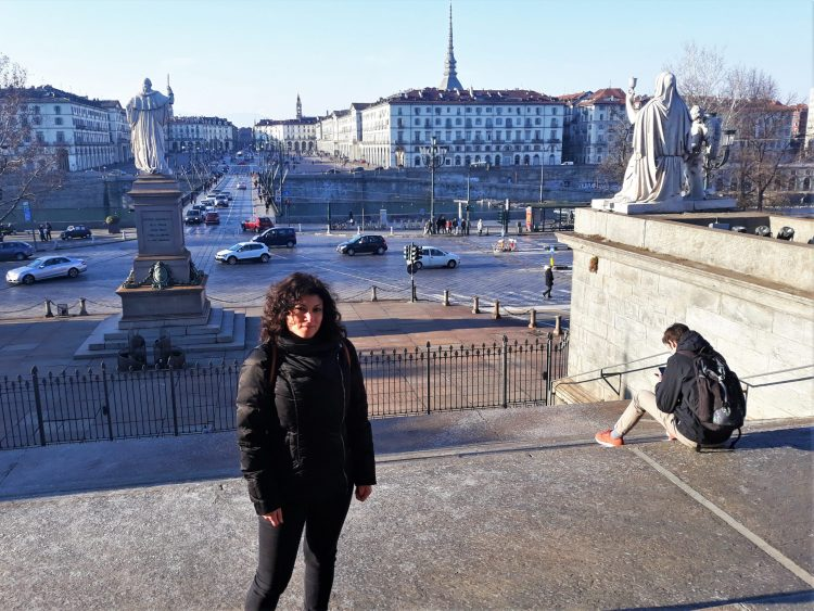 Panorama dalla Gran Madre, Piazza Vittorio - Torino