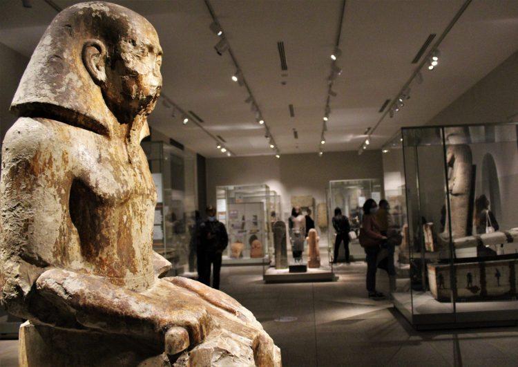 statua di uahka-museo egizio di torino